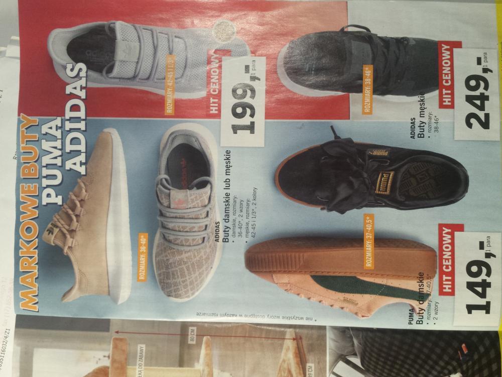 Puma i Adidas w Lidlu